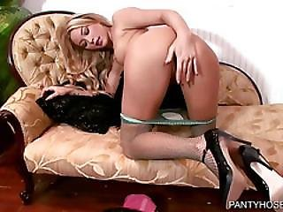 Hot Asian Pantyhose Fingering
