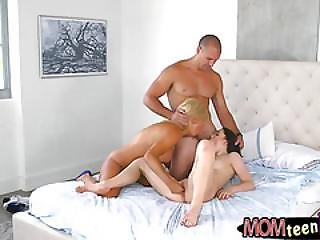 Parker Swayze And Ryland Ann Threesome In The Bedroom
