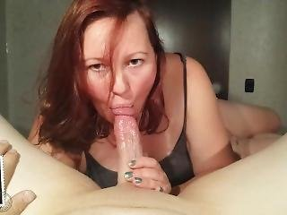 Sucks The Cum Out Of My Cock