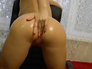 Oiled And Fucked In The Ass