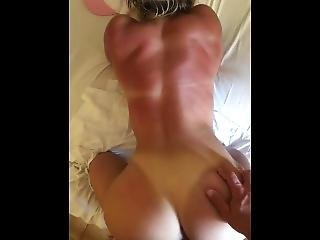 He Cums On My Back In A Hotel On Our Sicily Vacation