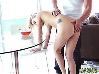 Tiny Teen Babe Gets Cum