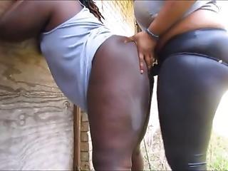 Ebony Summoning Strapon Dick Jutsu