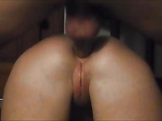 Sexy Plump Ass Filled With Cum