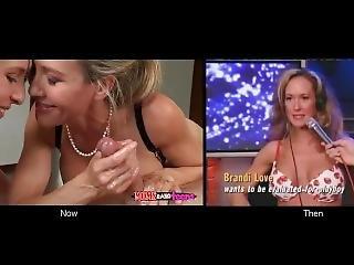 Brandi Love - Slutmother-daughter Relationship (then & Now)