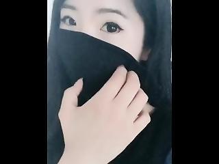 asiático, chino, fetiche, máscara, camara del internet