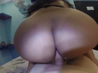 Big Ass Latina Dancing On Cock