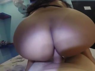 Big Ass Latina Dancing On Cock