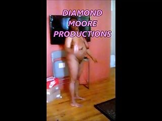 Unaware Black Busty Ghetto Wife Tits Ass Pussy Exposed