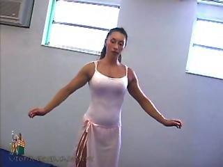 Ballerina, Domination, Femdom, Wrestling