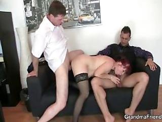 Lovely Office Lady Enjoys Two Dicks At Once