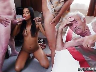 Mexican Teen Old Man Staycation With A Latin Hottie