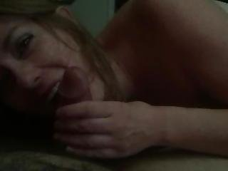 Total Stranger Says Hi To My Gf While Sucking My Cock