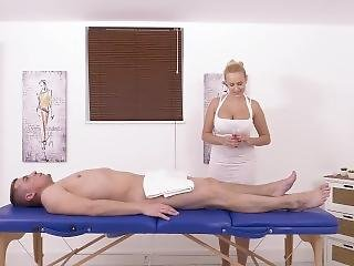 Special Dick Massage From Attractive Woman