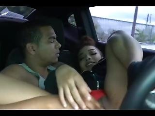 Light Skin Pussy Rubbed In Car