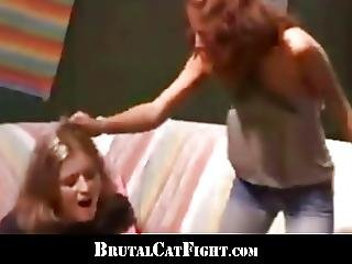 Lucky Dick Gains Nice Fuck From A Crazy Catfight