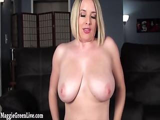 Your Busty Neighbor Maggie Green Wants You To Fuck Her