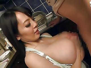 Asian, Big Boob, Boob, Busty, Fucking, Japanese, Pornstar, Tit Fuck