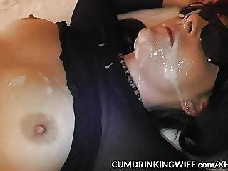 Slutwife Gangbanged By 12 Guys In A Motel Room