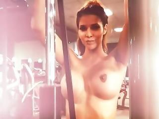 Micaela Schaefer Workout Nude Part 1