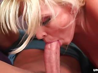 Katie Slides Down That Fat Dick As She Cowgirl Rides Him