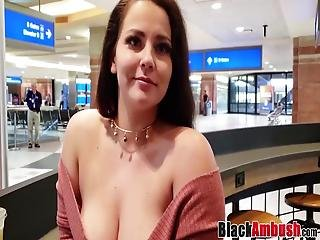 Mischievous Naomi Riding First Black Cock Hard For Cumshot