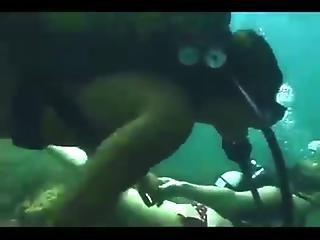 Milf, Sex, Underwater