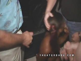 Porn Theater Gangbang With Monique