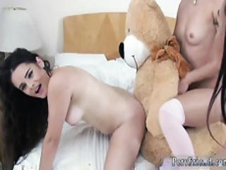 Hot Teen Big Tits Strip Bear Necessities