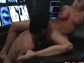 Blonde Nurse Tasting The Doctors Dick Real Well