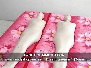 Double Mummified Indonesian Girl 015 - Clip