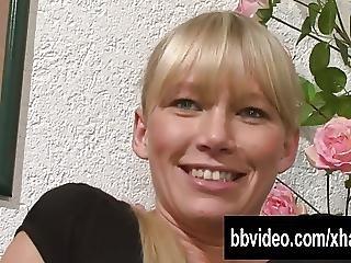 Firm Bodied German Honey Masturbating