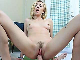 Step Bro Bangs Haley Reeds Tight Pussy On Top