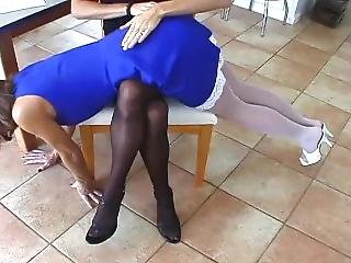 Lingerie Spanking By Female Director Pt. 1