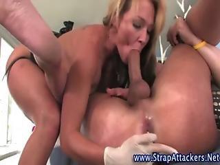 Strapon Fucking Femdom Bitch