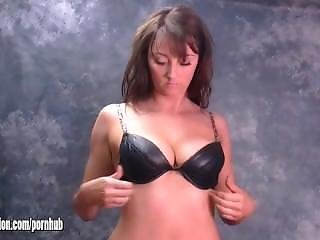 Busty Sexy Ass Babes Have Hot Fetish For Stripping And Dressing In Leather