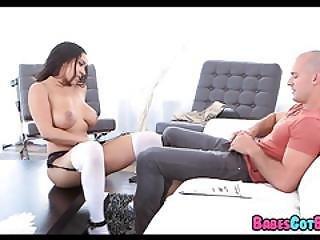 Gorgeous Latina Maid Has Nice Tits
