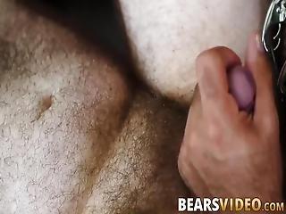 bear, blowjob, con cabello, en el cima, pálido, riding, bronceado