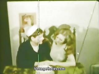 Sailors Girlfriend Deepthroat Mouth Cumshot 1960s Vintage