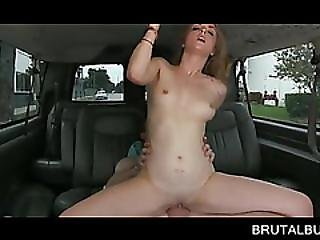 Cock Humping Sexy Blonde Gets Facialized