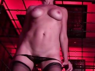 Caged Milf Loud Anal And Pussy Fingering