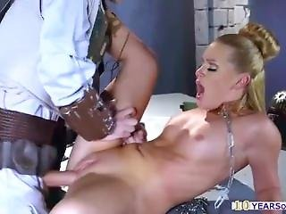 Gorgeous Princess Lay Captured And Screwed By Boba Fuck