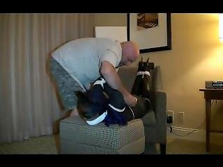 Superheroine In Catsuit
