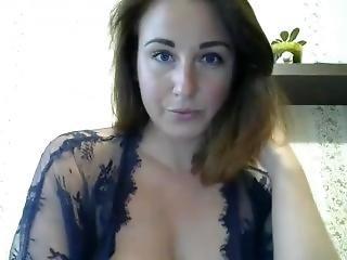 Amateur, Kont, Dikke Kont, Milf, Russisch, Solo, Webcam