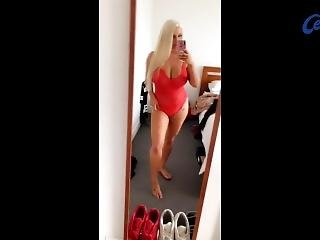 Sexy Blond Chloed88 Bathing Suit