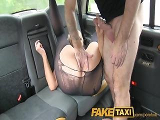 Faketaxi Back Seat Shagging And Surprise Creampie Pay For Taxi Fare