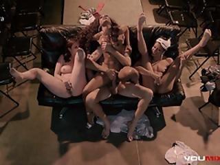 vaginální orgie