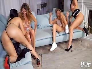 Deliciously Dirty Lesbian Swingers