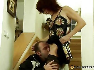 Hairy Pussy Licking Woman Man