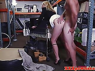 Real Pawnshop Milf Doggystyle Fucked For Cash